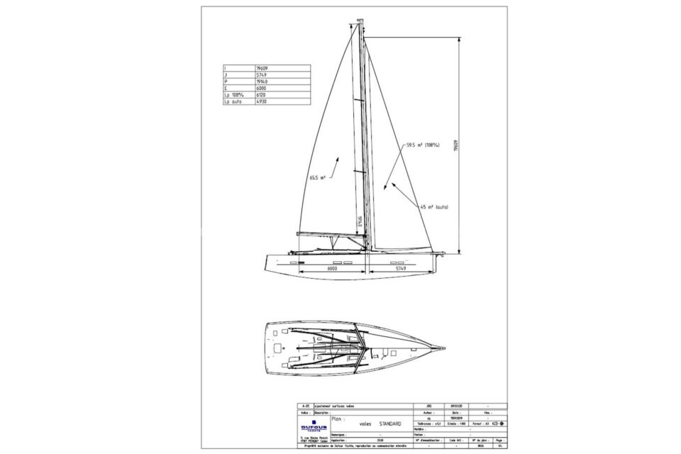 Sail Plan 1